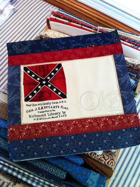 IMG_2659 Gettysburg Battle Flag Quilt Block
