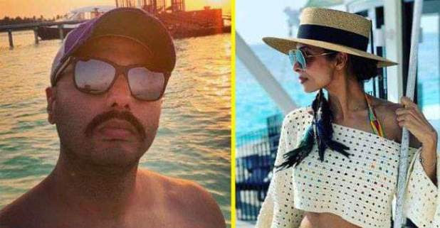 Arjun Kapoor and Malaika Arora having romantic Time in Maldives!! See pics shared by Arjun