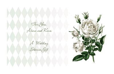 Wedding Shower Gift Greeting Card   Bridal Shower