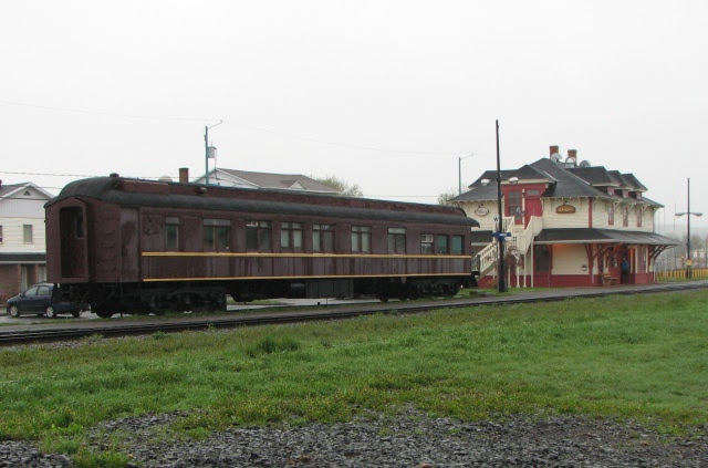 Lynnewood Pullman car in Amqui