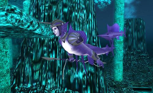 Purple fishman