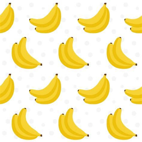 Bananas pattern design Vector   Premium Download