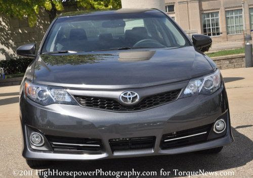 The Front End Of The 2012 Toyota Camry Se Torque News