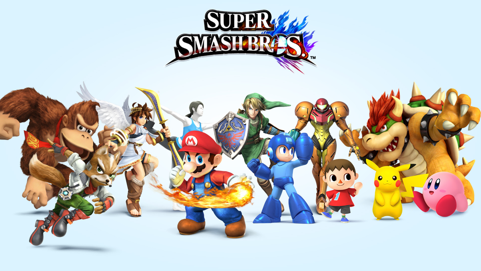 Super Smash Bros 4 Characters Wallpaper Hd Volume 1 Smashbros