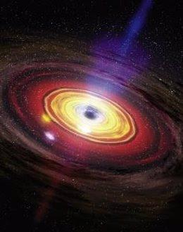 Foto: El agujero negro de la Vía Láctea sufrió una explosión hace 2 millones de años (NASA/DANA BERRY/SKYWORKS DIGITAL)