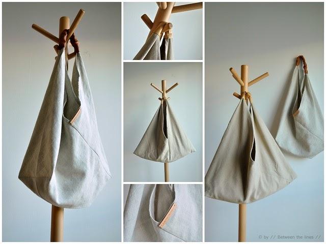 Triangular bag :: a tutorial