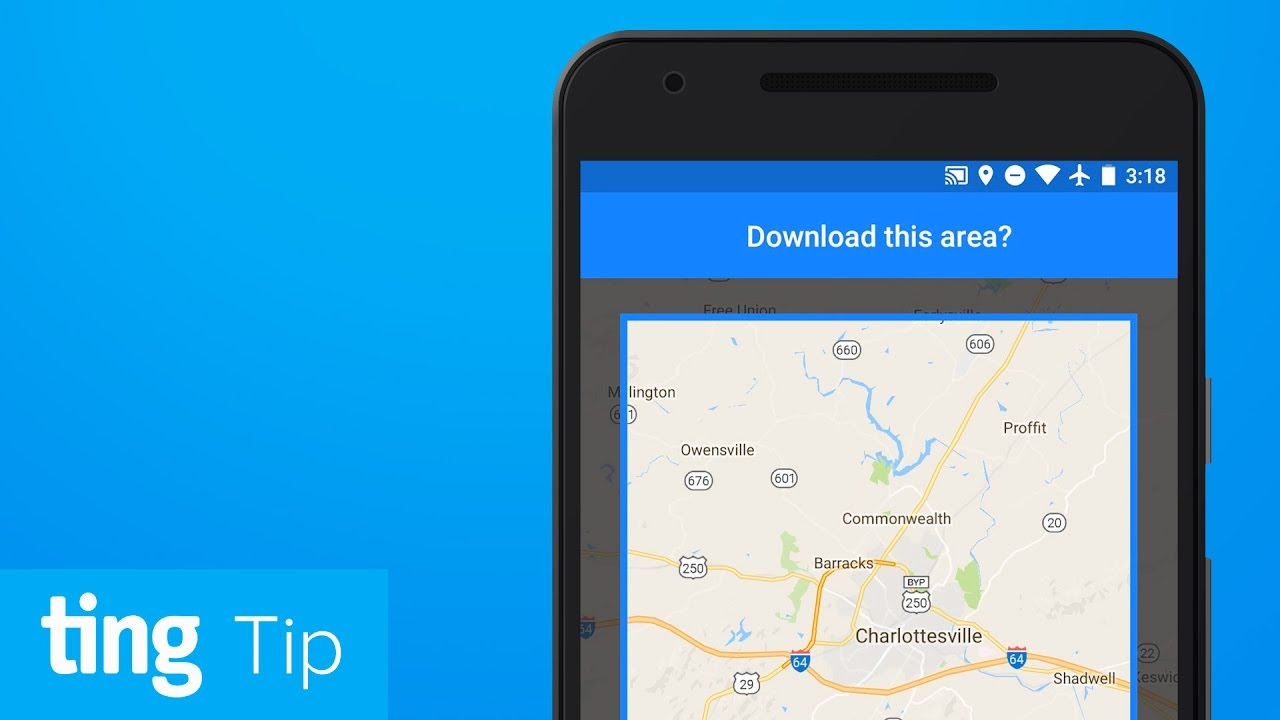 Download Google Maps For Offline Use Android And Ios