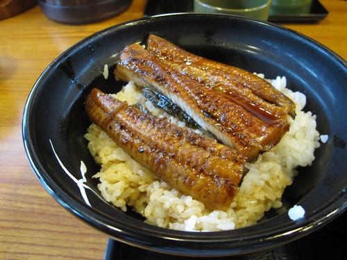 Unagi don at Yoshinoya
