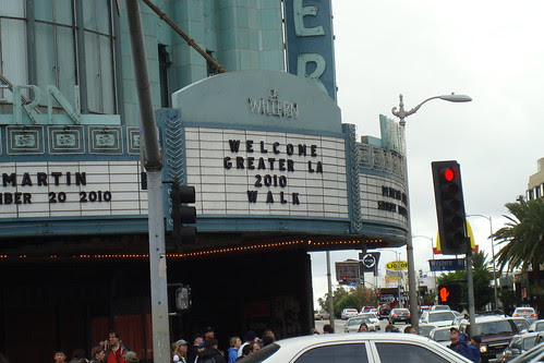 Great LA Walk 2010 - The Wiltern Theater