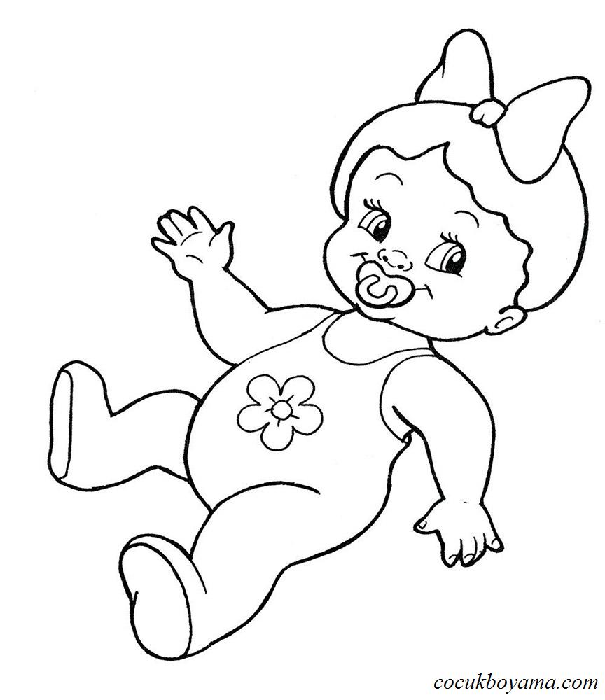 Bebek Boyama 36 ücretsiz Boyama Resimleri