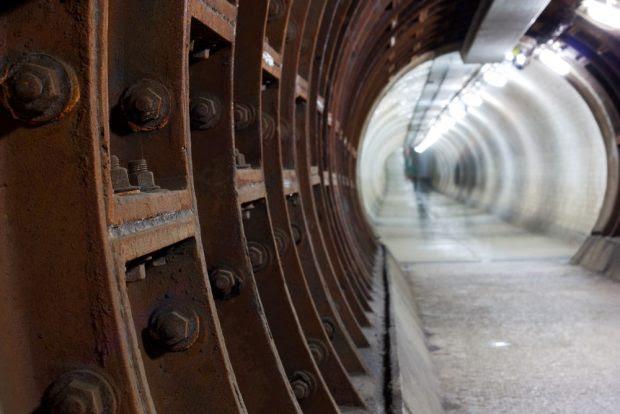 greenwich foot tunnel, london