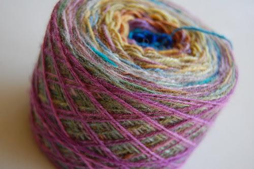Potluck yarn for Barn Raising