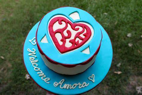 Amoras adoption finalization day cake.   Adoption Day Cake