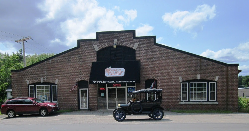 Model T Ford Forum Old Photo The Home Of The Ford Car Penacook Nh