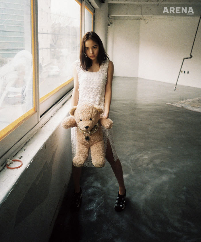 Min Hyo Rin - Arena Homme Plus Magazine March Issue '15