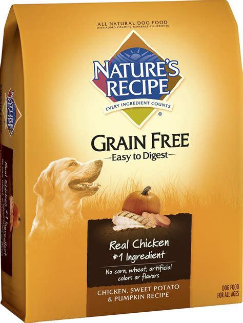 nature  recipe dog food reviews food