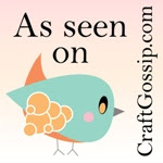 As seen on CraftGossip.com