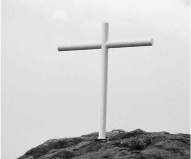 Mojave Desert 'Forbidden' Cross