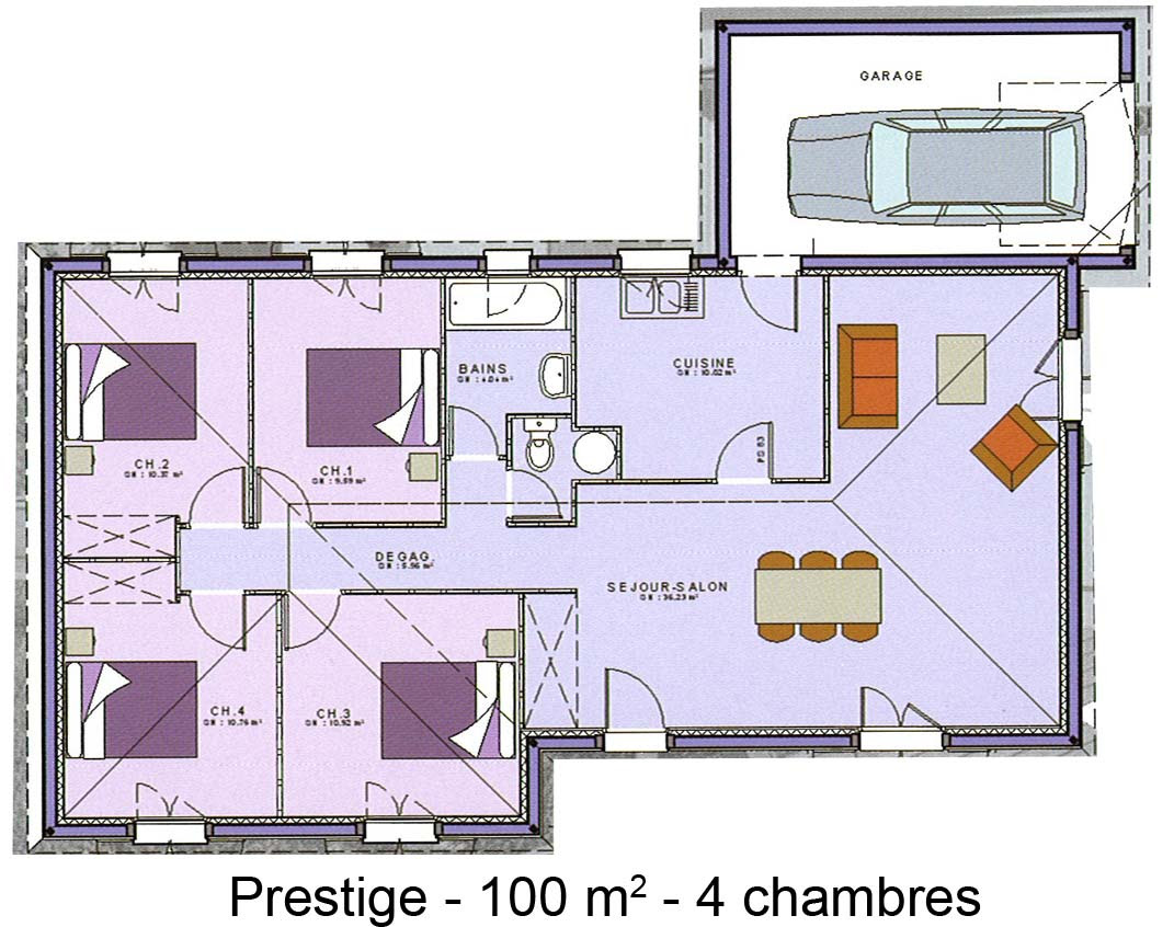Design De Maison Minimaliste: Plan De Villa De Luxe Gratuit Pdf