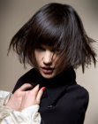 Sanrizz medium length hairstyle