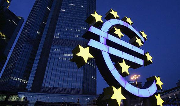 La Banca centrale europea a Francoforte