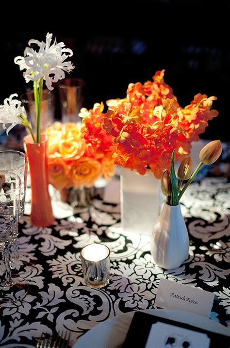 Black and White Wedding Ideas: Using Black and White with