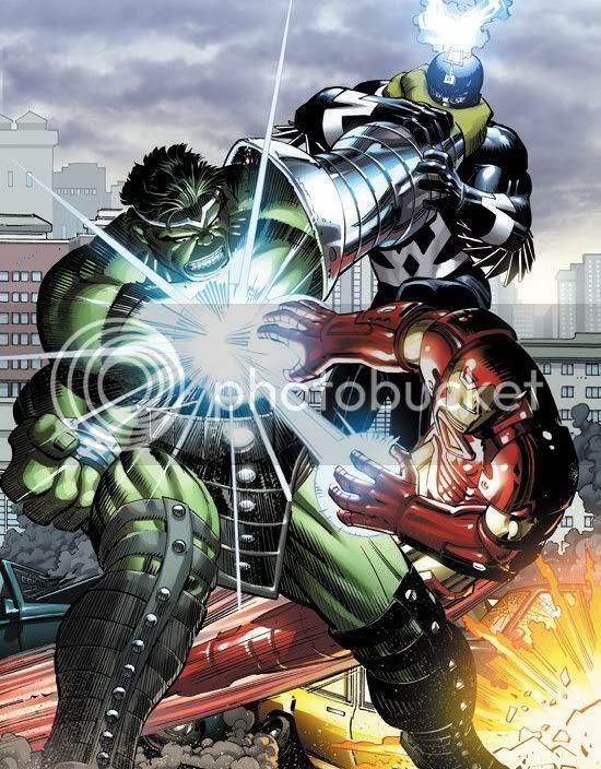 World War Hulk #1 John Romita Jr. variant cover