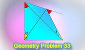 Problema 33: Triángulo, Cuadrilátero, Ángulos.