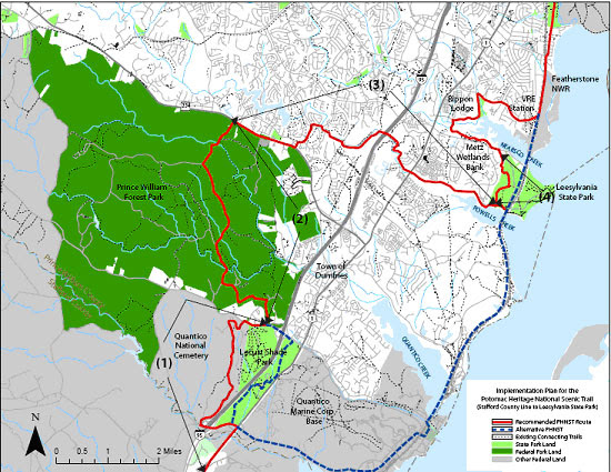 Maps: Us Map Potomac RiverPotomac River Map With States