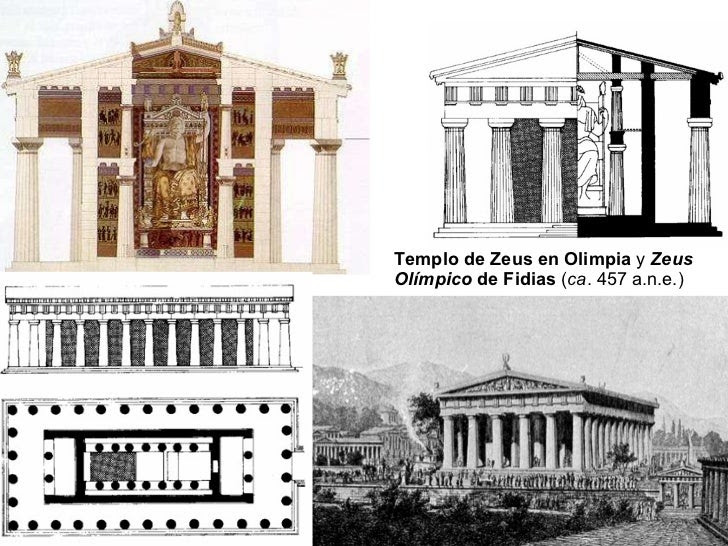 Resultado de imagen de Templo de Zeus en Olimpia