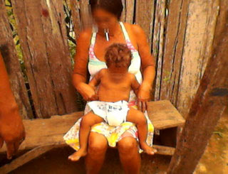 criança fralda (Foto: PM-PA/Divulgação)