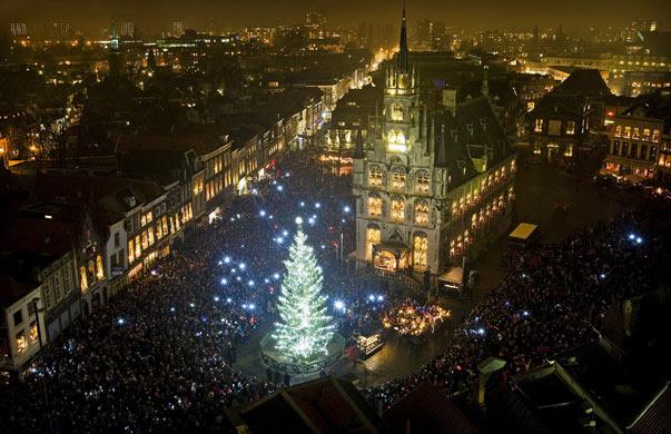 Gallery Christmas lights: Gouda