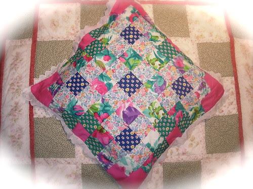 Cojin de patchwork