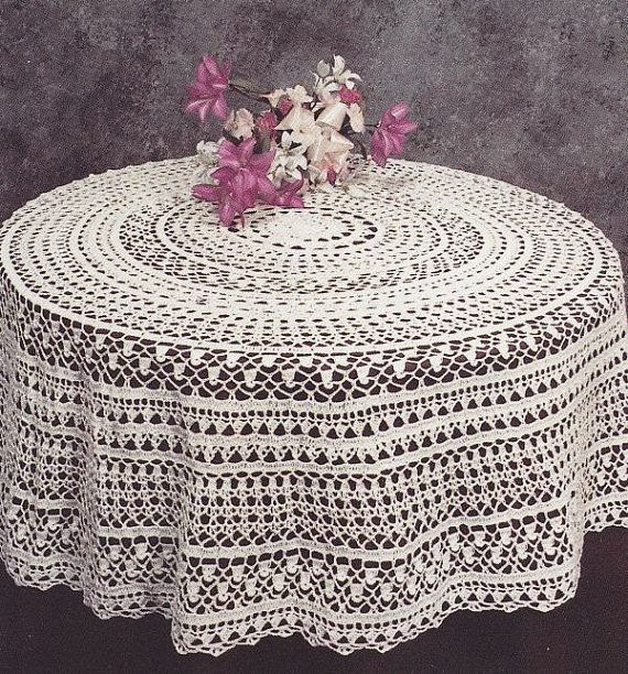 17 Crochet Patterns Tablecloths Crochet Tablecloths Patterns
