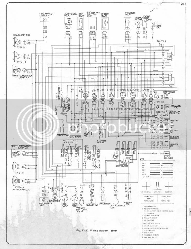 Datsun 620 Wiring Diagram - Wiring Diagram