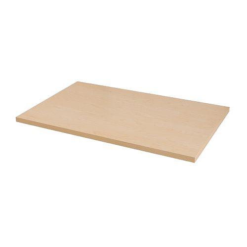 LINNMON Piano tavolo IKEA Fori predisposti per le gambe: facilitano il montaggio.
