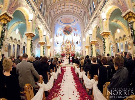 The beautiful St. John Cantius in Cleveland. Wedding