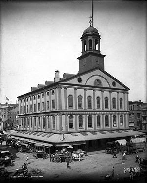 Faneuil Hall circa 1890-1906