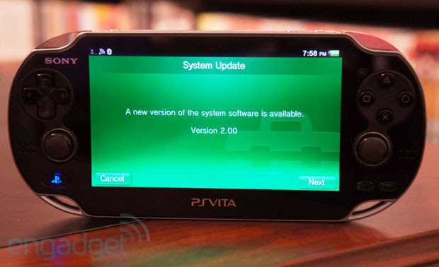 PS Vita's 2.0 firmware update arrives with PlayStation Plus, speedier browser and more