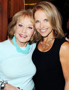Two strong women - Barbara Walters and Katie Couric