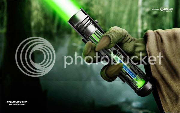 Compactor Cia de Canetas: Yoda