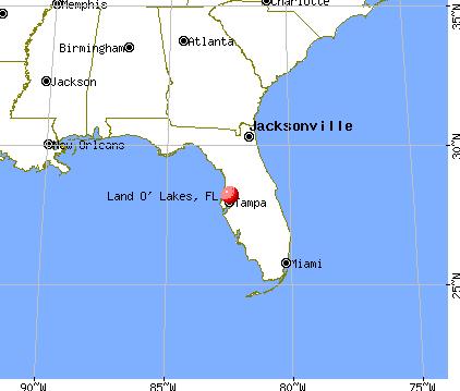 Florida Map 2018 Map Land O Lakes Florida