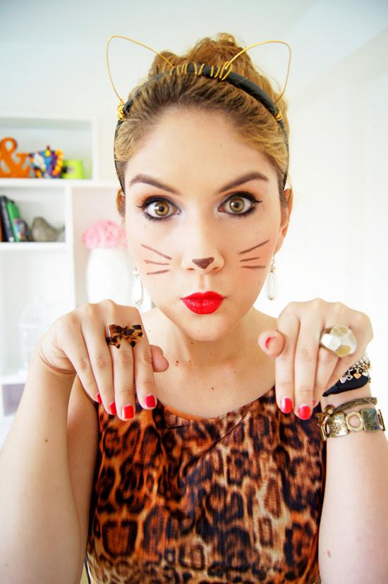DIY Halloween Costume: Leopard Kitty Cat!