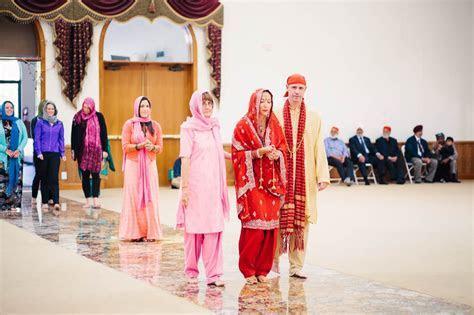 Justin and Dawn   Sikh Ceremony   Gurdwara Sahib, Fremont