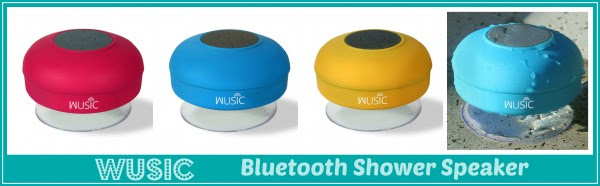 Enter the Wusic Bluetooth Shower Speaker Giveaway. Ends 6/8.