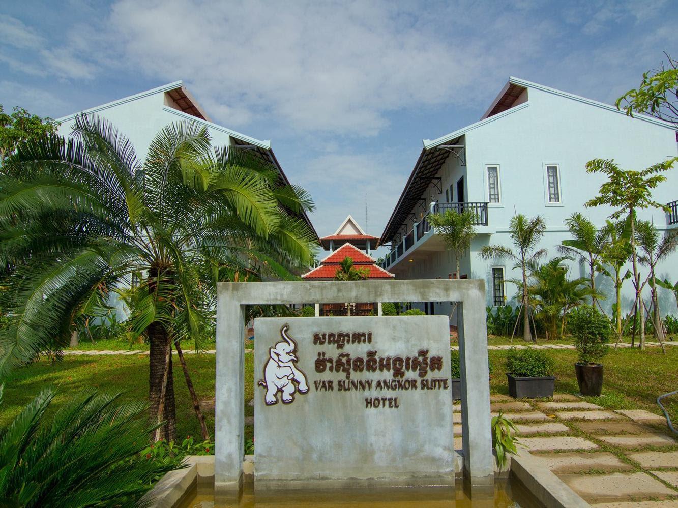 Review Var Sunny Angkor Suite Hotel