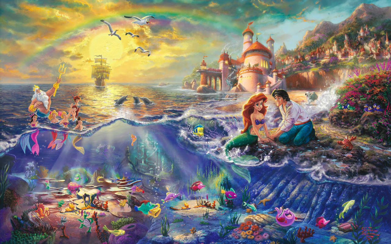 Scene Art on Pinterest  Thomas Kinkade, Manualidades and
