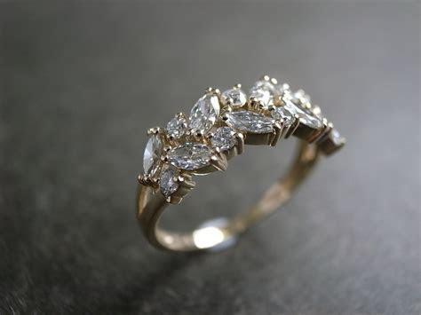 Marquise Wedding Ring / Engagement Ring / Diamond Ring
