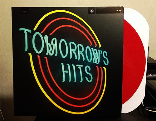 The Men - Tomorrow's Hits - Red Vinyl by Tim PopKid