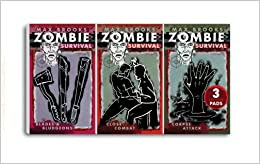 Collector set of Zombie notepads